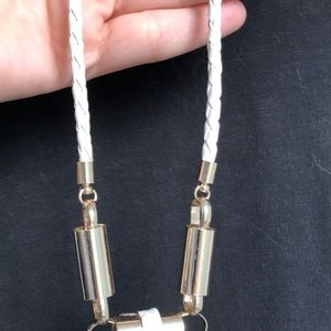 Anthropologie Jewelry - Anthropologie braided leather necklace